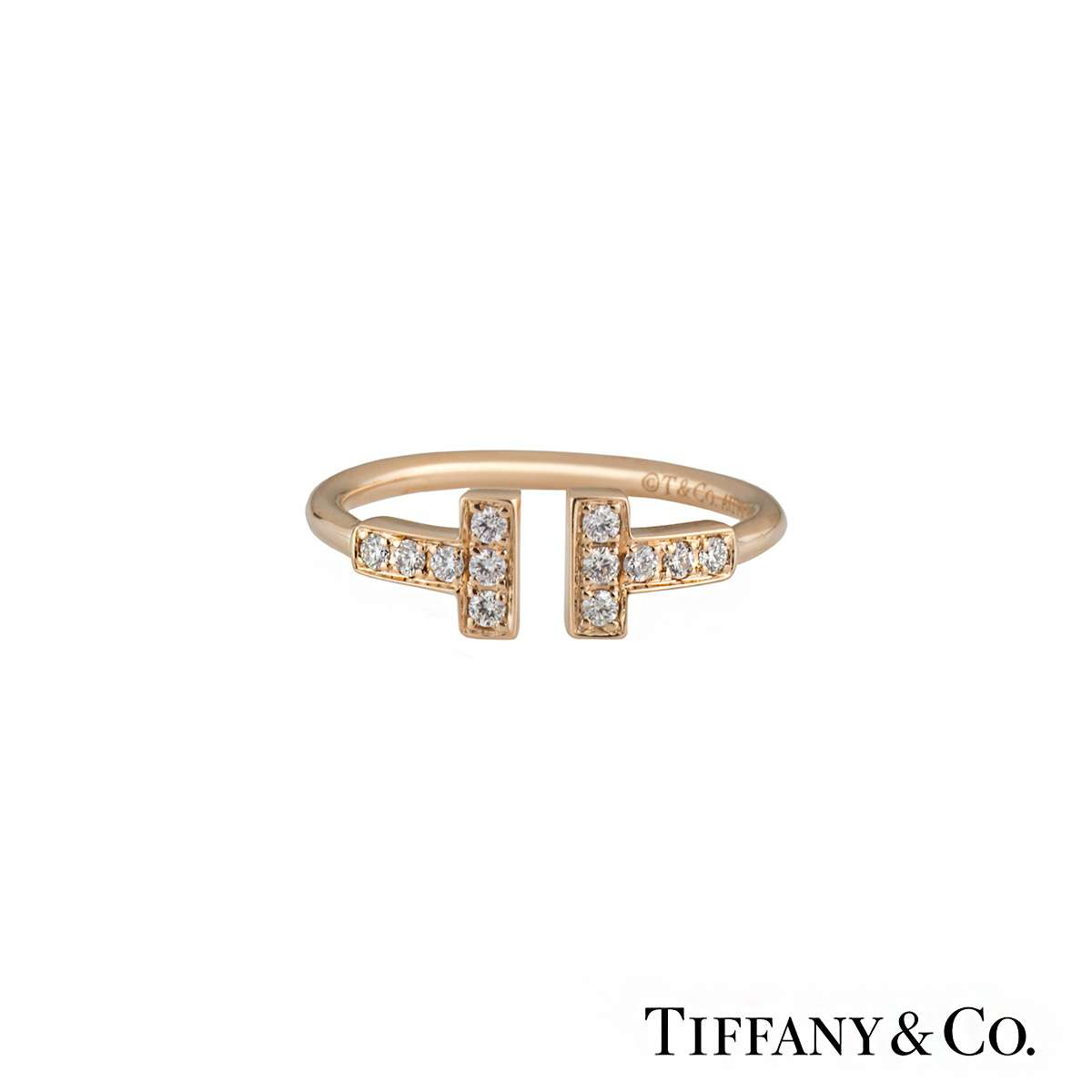 Tiffany Amp Co Tiffany T Wire Ring Rich Diamonds Of Bond